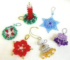 beaded ornament patterns classic designs set of