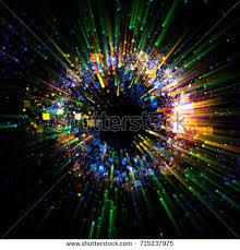 speed of magic abstract spacescape black on stock illustration