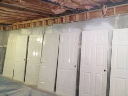 how to spray paint interior doors home design photo gallery
