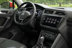 volkswagen tiguan interior 2018 volkswagen tiguan review 7 things to know the drive