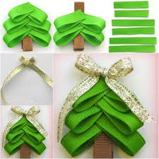 christmas hair accessories wonderful diy christmas tree hair clip