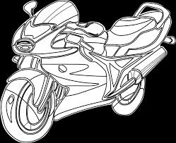 free printable motorcycle coloring pages coloring pages kids