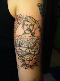sailor on arm