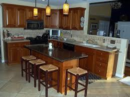 kitchen granite kitchen island table and 3 unique glass pendant