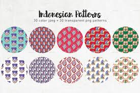 indonesian pattern 30 30 indonesian seamless patterns by likorbut graphicriver