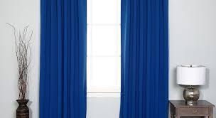 curtains striking royal blue eyelet blackout curtains glorious