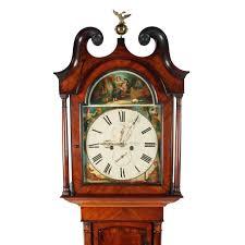 victorian scottish grandfather clock antique clocks pinterest