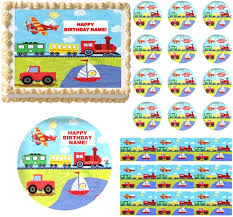 umizoomi cake toppers on the go transportation truck edible cake topper image