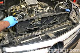mercedes benz w204 radiator replacement 2008 2014 c250 c300