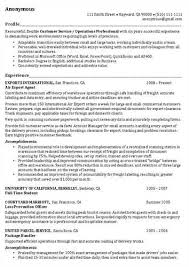 Profile Resume Examples For Customer Service Profile Example For Resume Professional Gray Resume Sample Nanny
