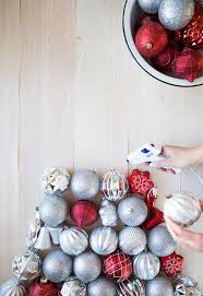 diy ornament tree say yes