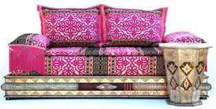 Middle Eastern Sofa - Moroccan living room set