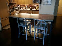 kitchen island with dining table magnificent l shaped kitchen