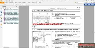 hino engine diagrams hino truck series wiring diagram and