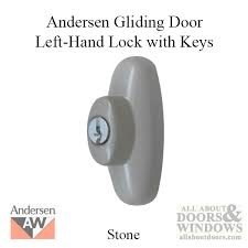 Sliding Glass Door Lock With Key by Left Hand Exterior Tribeca Lock With Keys For Frenchwood Sliding