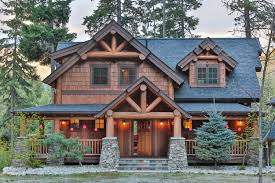 Rustic Homes Big Chief Mountain Lodge A Natural Element Timber Frame Home