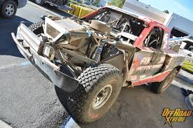 baja truck racing rolling through all new brenthel trophy truck finishes baja 1000