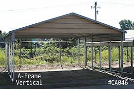 Car Port Roof A Frame Carports For Sale Custom Vertical