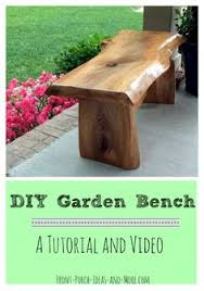 wooden bench diy 4 simple pieces screwed together love it diy