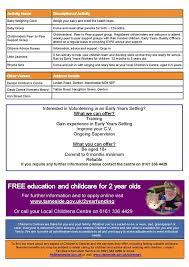 support ran bureau denton south children s centre home