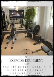 8 effective and low cost home exercise equipment
