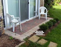 Small Patio Pavers Ideas Paver And Brick Patios Rocha Construction Silver Md Inside