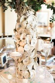 Seashell Centerpieces For Weddings by Lowcountry Oyster Rehearsal Dinner By Landon Jacob Shell