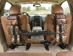 survival truck gear front seat gun sling rifle storage for truck suv 2 colors