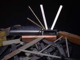 Spyderco Sharpmaker Kitchen Knives Spyderco Sharpmaker 204mf Woodsmonkey