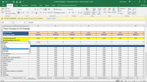 Rental Property Calculator Spreadsheet Investment Property Spreadsheet Real Estate Excel Roi Income Noi
