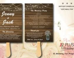 Diy Wedding Fans Templates The 25 Best Fan Programs Ideas On Pinterest Fan Wedding