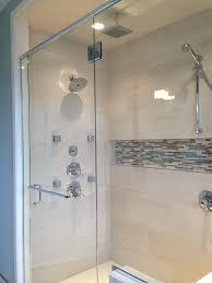 photos bathroom with niche niches shampoo soap tiny bathroom with niche mosaic shower pinterest