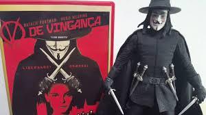 neca toys cult classics v for vendetta figura pt br youtube
