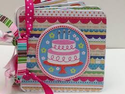 premade scrapbooks 68 best birthday themed mini albums images on mini
