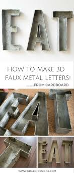 25 unique cardboard letters ideas on marquee letters