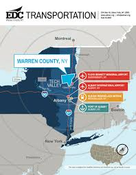 Albany New York Map by Warren County Edc Business Advantages Of Warren County New York