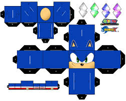 Sonic The Hedgehog Papercraft - sonic the hedgehog papercraft page 1 by xchosenone1 on deviantart