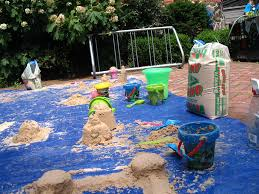 sand crafts for families