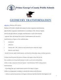 Transformations Geometry Worksheet Geometry Worksheet Africanteachersassociation