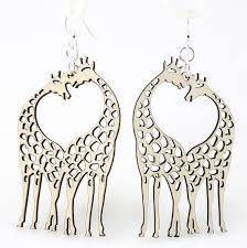 giraffe earrings earrings