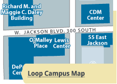 depaul map conference venue maps acm conference on it education it research