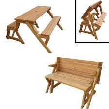 bench that turns into picnic table best tables