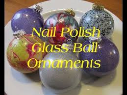 diy nail glass ornaments