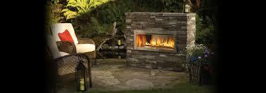 gas fireplace outdoor binhminh decoration