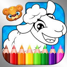 123 kids fun coloring book outline drawing images app store