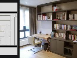 biblioth ue avec bureau bibliotheque et bureau intégré portfolio tags agence diot clement