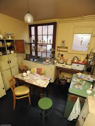 1950s Kitchen Furniture by The Terrace That Time Forgot Domestic Life In 1950s Britain