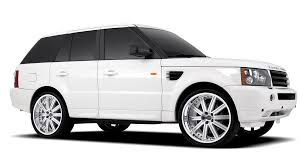 black land rover with black rims redbourne aftermarket land rover wheels extends line to support