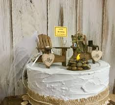 hunting cake topper bow hunting camping hunter wedding