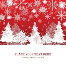 christmas and new year red background xmas retro gift template